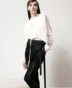 Half Camo Shirt - Vanilla | Konsanszky | NOT JUST A LABEL