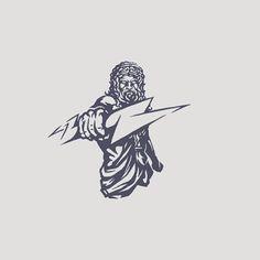 Zeus illustration #zeus #fantasy #sport #gaming #training #logodesigner #graphicdesign #vector #illustration