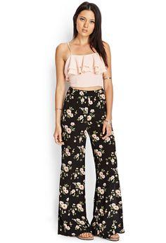 Floral Wide-Leg Pants | FOREVER21 #SummerForever