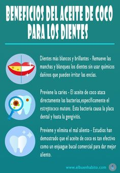beneficios del aceite de coco para los dientes