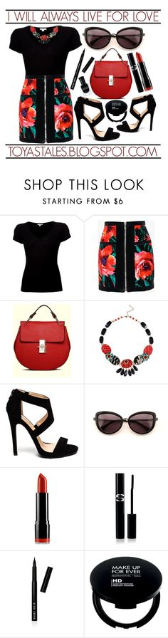 """""""I Will Always Live For Love"""" by latoyacl ❤ liked on Polyvore featuring James Perse, Balmain, Wildfox, NYX, Sisley Paris, Bobbi Brown Cosmetics and Deborah Lippmann"""
