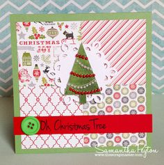 Pearly Tree Card - Scrapbook.com