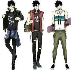 Kuroo looks good so I can't choose which one I like most Credits to milkybread / tumblr #Haikyuu #tsukishima #kuroo #kurootsuki #bokuto #akaaahi #hinata #Kageyama #yaoi #bl #karasuno #nekoma #kenmakozume #kenma #uke #seme #daichi #sugawara #nishinoya #tanaka #yamaguchi #kuroo