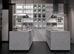 One Kitchen in Cement