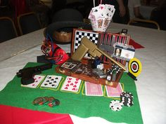 James Bond Party - Table Decoration by TheCheekyBorg, via Flickr