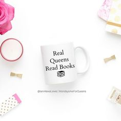 The 'Manifesting like a Boss!' & 'Real Queens Read Books' mugs are back instock get yours now by clicking link in bio. You know they go like hot scones ------------------------------------ Real Queens, Paradigm Shift, Writers Write, Read Books, Law Of Attraction, Scones, Self Care, Book Worms, Blessings