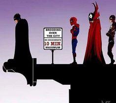 Funny superhero