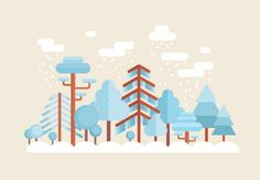 En lo más fffres.co: Cómo Crear una Escena Invernal de Diseño Plano en Adobe Illustrator: What You'll Be Creating En éste tutorial…