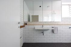 Bondi Junction - midcentury - Bathroom - Sydney - Nadine Nakache Design