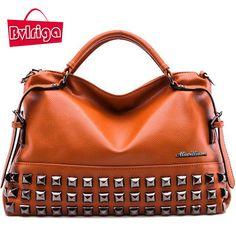 Women Bag Ladies Women Messenger Bags Handbags Women Famous Brands Big Shoulder Bag Rivet Dollar Prices Fashion Bolsos //Price: $57.47 & FREE Shipping //     #womenbags