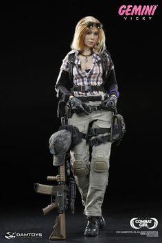 Combat Girl Series - Gemini Vicky