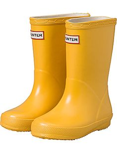 Little girl Hunter Boots! How come little kid shoes make me so stinking happy!