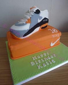 12 Best Nike shoe cake images | Nike, Cake, Nike cake