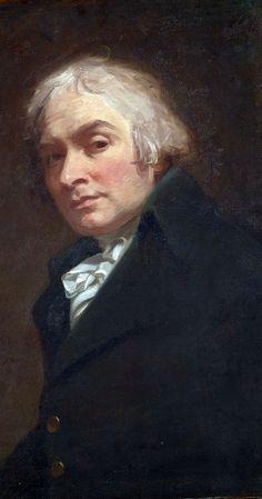Self-portrait by George Romney, England, ca. 1795