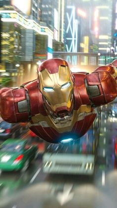 Iron Man New York Fight iPhone Wallpaper - iPhone Wallpapers
