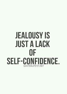 Lack of self confidence
