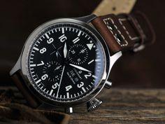 Steinhart Nav B chrono Steinhart Watch, Affordable Watches, Luxury Watches For Men, Mechanical Watch, Inspirational Gifts, Cool Watches, Omega Watch, Chronograph, Smart Watch