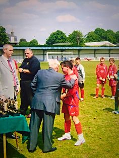 Aldershot town days as a youngster