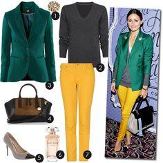 Green and mustard @ mini-saia