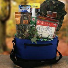 Hunter Survival Kit Hunting Gift Basket: