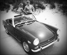 1970 MG Midget.