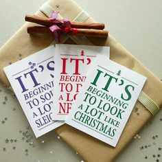 Get these gorgeous new Christmas cards now at Etsy #merrychristmas