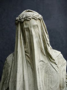 Sorrow....  Beautiful statue