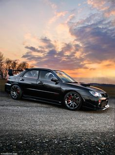 Subaru WRX STI... one sick car.. Fast & AWD... #love