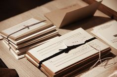 Paper & Type Little and Medium Notes at West Heritage x Madewell Event