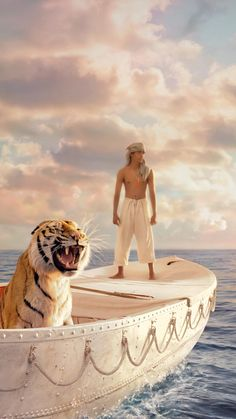 """Read """"The Making of Life of Pi A Film, a Journey"""" by Jean-Christophe Castelli available from Rakuten Kobo. The motion picture version of Yann Martel's Man Booker Prize-winning bestseller Life of Pi is the most ambitious fil. Pi Film, Film Movie, Downton Abbey, Movies To Watch, Good Movies, Funny Movies, Life Of Pi 2012, Jean Christophe, Ang Lee"""