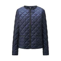 Uniqlo- Ultra Light Down Collarless Jacket