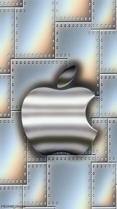 Descargar Metal Plates & Aluminum 640 x 1136 Wallpapers - 4482518 - Logo iPhone Steel Metal Apple Apple Iphone Wallpaper Hd, Android Phone Wallpaper, Funny Phone Wallpaper, Apple Background, Wallpaper Shelves, Apple Icon, Apple Decorations, Phone Apple, Steel Metal