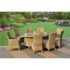 Garden Furniture Vouchers buy bali 8 seater rattan effect patio furniture set. get marvelous