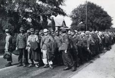 """German prisoners of war at Camp Aliceville during WWII.  Aliceville, AL in Pickens County.  Never knew there was a prisoner of war camp in Alabama until my friend from Reform, Alabama took the Dixie Divas on a tour of her """"neck of the woods""""..."""