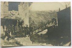 Željeznički most na Rječini - srušen 25-26. prosinca 1920