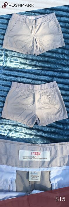 J. Crew Khaki Chino Shorts J. Crew Khaki Chino Shorts worn a couple of times, size XL! J. Crew Shorts