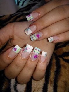 diy decorao quarto decorao quarto nail nail garden for teens scrunchie jenner nail nail Creative Nail Designs, Toe Nail Designs, Creative Nails, Cute Nail Art, Cute Nails, Pretty Nails, Fabulous Nails, Gorgeous Nails, Short Nail Manicure
