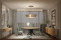 Boulevard 💚 Spear #jetclassgroup #diningroomset #diningroomdecor #salajantar #decorcasa #mobiliariosala Dining Room Inspiration, Create Space, Cabinet Design, Interior Design, Modern Decor, Design Projects, Divider, Dining Table, Furniture