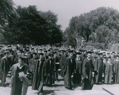 Commencement, 1963 (Planting Fields, Oyster Bay, NY/Stony Brook University)