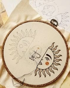 Embroidery For Beginners Embroidery Designs Chain Stitch Embroidery Ribbon Chain Stitch Embroidery, Learn Embroidery, Hand Embroidery Stitches, Silk Ribbon Embroidery, Hand Embroidery Designs, Embroidery Techniques, Embroidery Ideas, Diy Embroidery For Beginners, Hand Stitching