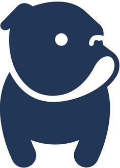 Civvy bulldog logo by Darren Whittington