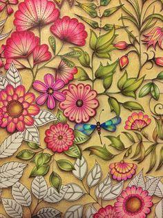Jardimsecreto Secretgarden Secret Garden Coloring BookAdult