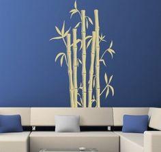 Contemporary Bamboo Wall Mural