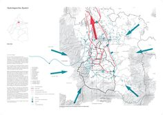 Embraced Water - an urban ecological concept for Mexico City by Fabian Brenne