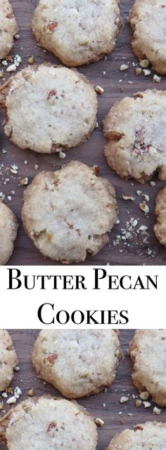 Delicious Butter Pecan cookies. These remind me of the Little Sandies cookies. They are easy to make.