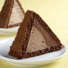 Czech Desserts, Sweet Desserts, Dessert Recipes, Cake Bars, Pie Cake, Czech Recipes, Chocolate Delight, No Bake Pies, Pastry Cake