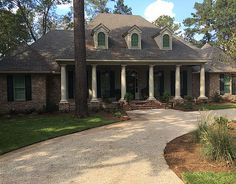 Louisiana Style House Plans       House Plan  Country French House     Madden Home Design   Acadian House Plans  French Country House Plans