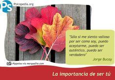 La importancia de ser tú http://psicopedia.org/2184/la-importancia-de-ser-tu/