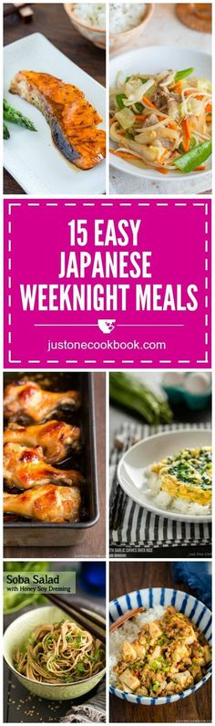 15 Easy Japanese Weeknight Meals | Easy Japanese Recipes at