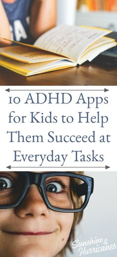 10 ADHD Apps for Kids to Help Them Succeed at Everyday #Help #SpecialNeedsHelp #AppsForKids #ADHDApps #ADHD